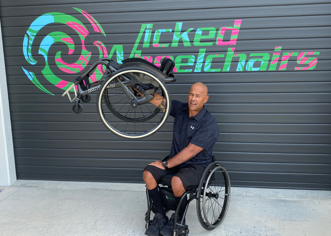 Dion from Wicked Wheelchairs