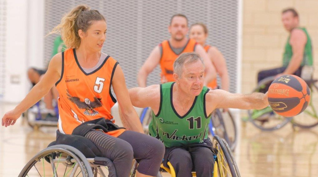 Rollerblaze Wheelchair Basketball